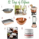 12 Days Of Giftmas -Shiny Copper Things