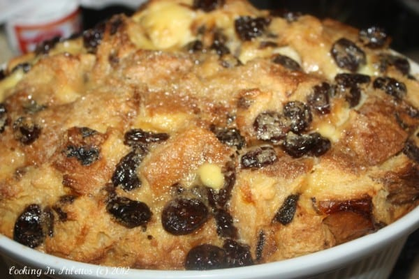 Recipe Redo – Panettone Bread Pudding With A Dash Of Cherries and Rum