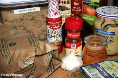 BBQBeef-Ingredients