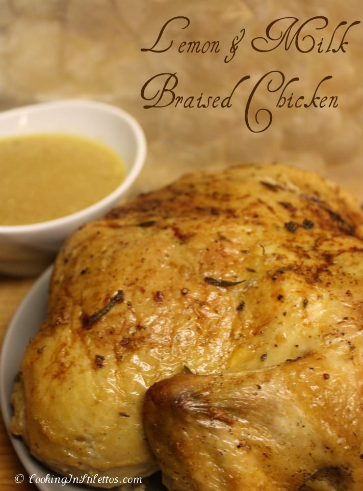Tried and True: Lemon and Milk Braised Chicken