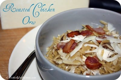 Roasted Chicken Orzo