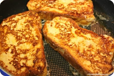 Cinnamon Plum French Toast - French Toast