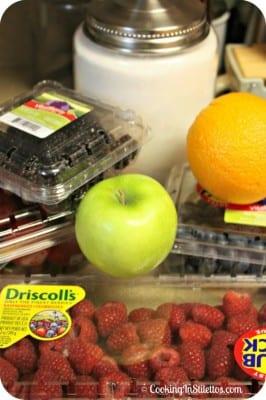 Mixed Berry Jam - Ingredients