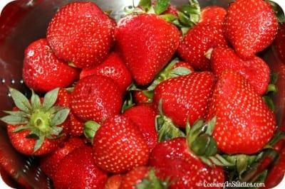 Mixed Berry Jam - Strawberries