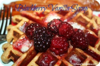 Blackberry Vanilla Syrup