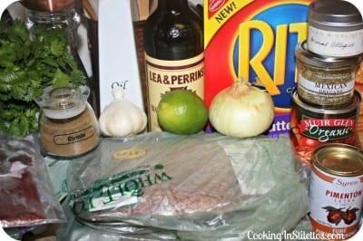 Chipotle Glazed Meatloaf - Ingredients