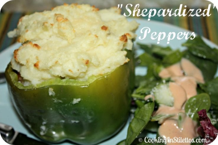 Secret Recipe Club: Shepardized Peppers