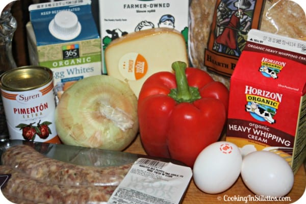 Breakfast Casserole - Ingredients