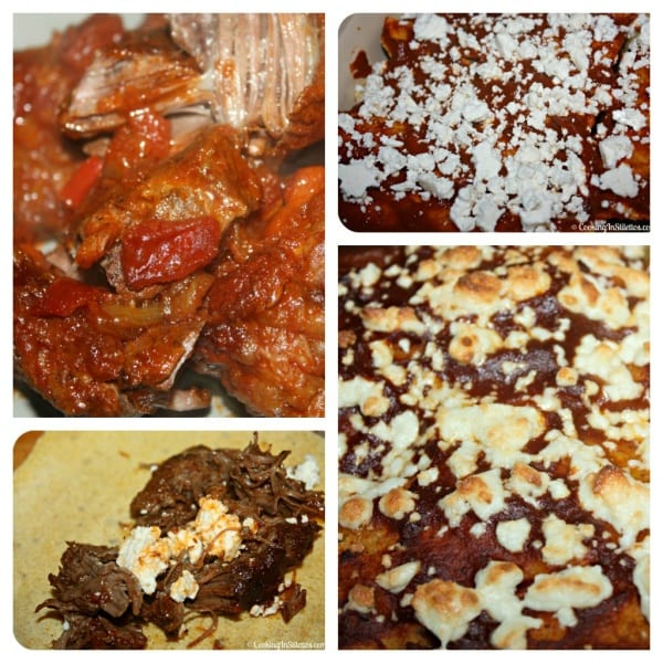 Short Rib Enchiladas - Assembly | Cooking In Stilettos