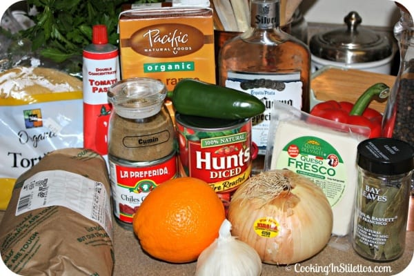 Short Rib Enchiladas - Ingredients   Cooking In Stilettos