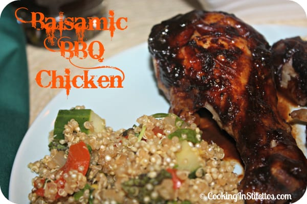 Balsamic BBQ Chicken - Ingredients | Cooking In Stilettos