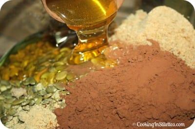 Chocolate Peanut Granola - Syrup