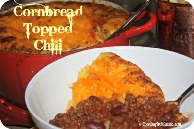 Cornbread Topped Chili