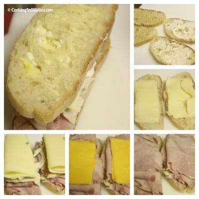 Monte-Cristo-Sandwich-Assembly