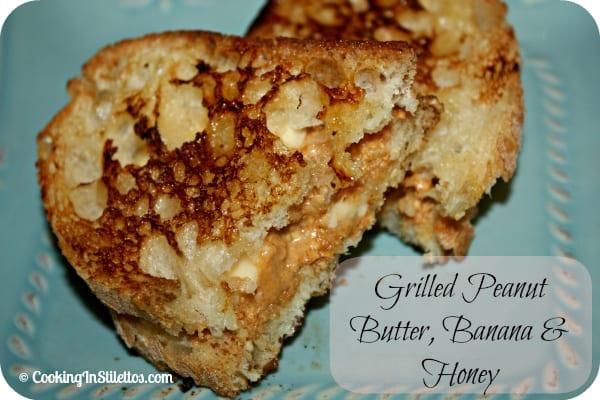Peanut-Butter-Banana-Honey-Sandwich
