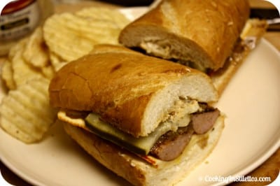 Smoked-Sausage-Sandwich