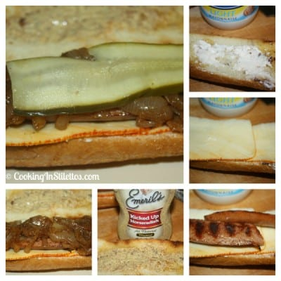 Smoked-Sausage-Sandwich-Sandwich-Assembly
