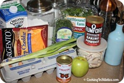 Apple-Cheddar-Chicken-Muffins-Ingredients
