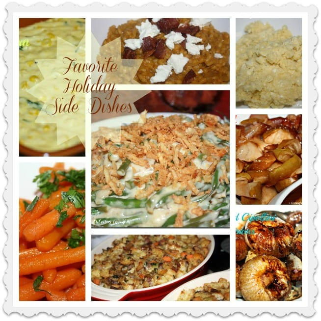 Favorite Holiday Side Dishes | Cooking In Stilettos