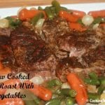 Secret Recipe Club: Slow Cooked Pot Roast With Vegetables