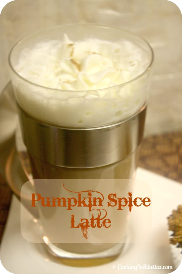 Pumpkin Spice Latte from Scratch