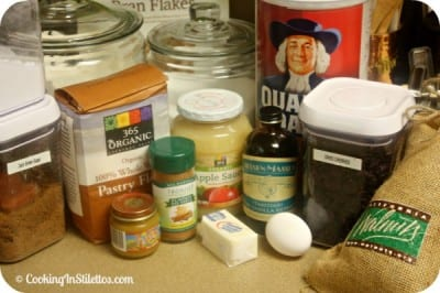 Breakfast Cookies - Ingredients