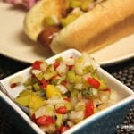 Celebrating Memorial Day With #HebrewNational and a Homemade Hot Dog Relish Recipe