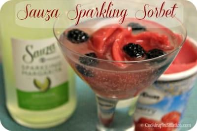 Sauza Sparkling Margarita -Sparkling Sorbets