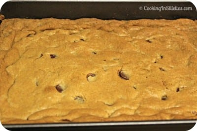 Chocolate Chip Blondies - Freshly Baked
