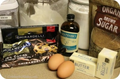 Chocolate Chip Blondies - Ingredients