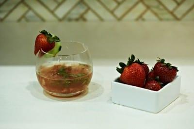 Kelly Ripa's Seasonal Artisanal Cocktails_ Strawberry Basil Margarita