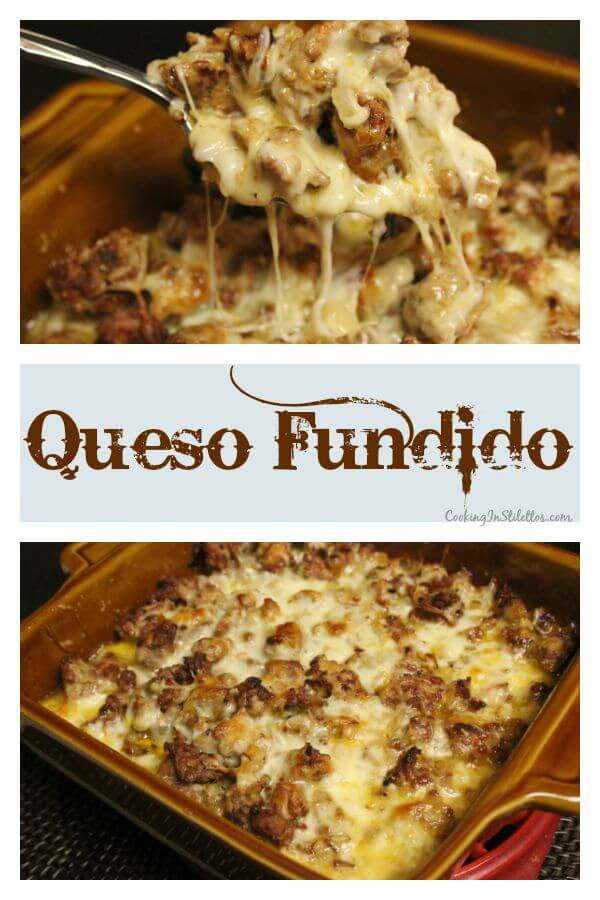 Queso Fundido | Cooking In Stilettos
