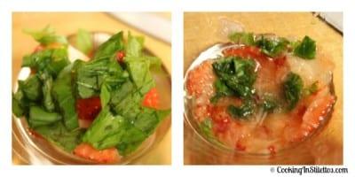 Strawberry Basil Margarita - Muddle