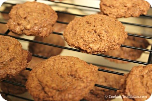 Mexican Chocolate Cookies - Cooling