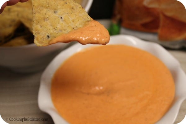 Tried and True:  Roasted Red Pepper Dip #GiantFlavor