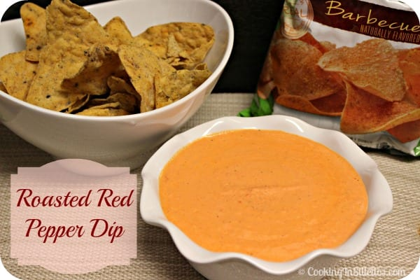 Roasted Red Pepper Dip | Cooking In Stilettos