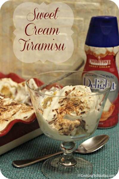 Tried and True: Sweet Cream Tiramisu #IScream4ID