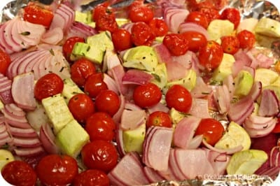 Tuna Pasta Salad With Roasted Tuscan Vegetables - Veggies