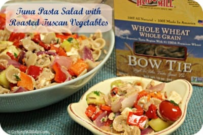 Tuna Pasta Salad With Roasted Tuscan Vegetables