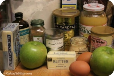Apples and Spice Cupcakes - Ingredients