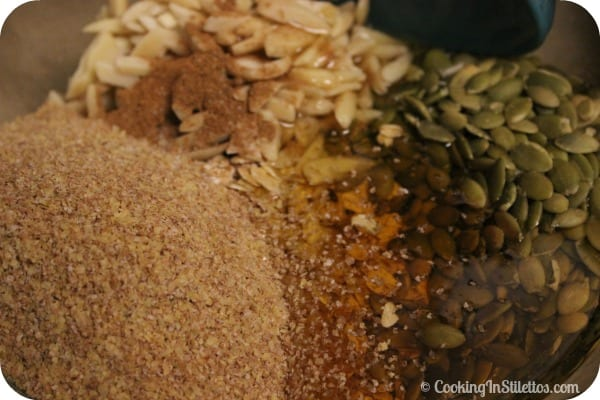 Harvest Granola - Agave Nector & Grains | Cooking In Stilettos
