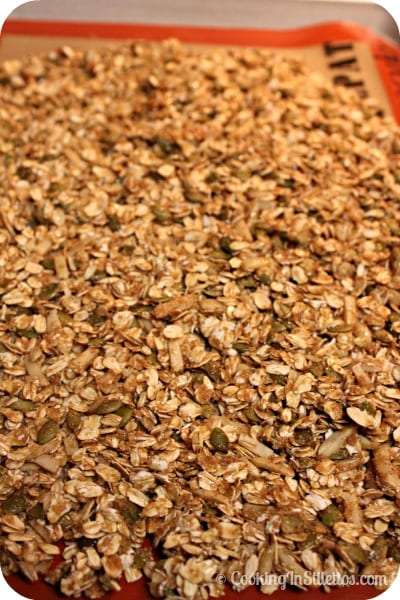 Harvest Granola - Freshly Baked | Cooking In Stilettos