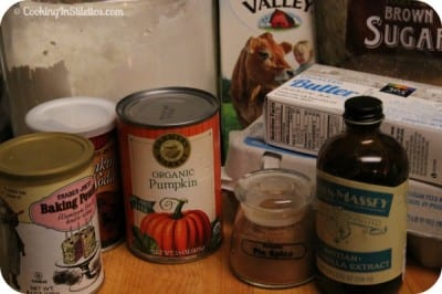 Pumpkin Spice Donuts - Ingredients | Cooking In Stilettos