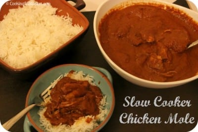 Slow Cooker Chicken Mole | Cooking In Stilettos
