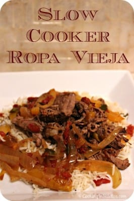 Slow Cooker Ropa Vieja | Cooking In Stilettos