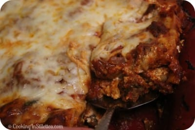 Classic Lasagna - Slice | Cooking In Stilettos
