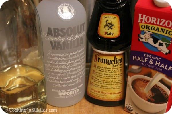 Creamy Hazelnut Martini - Ingredients | Cooking In Stilettos