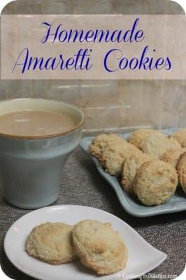Homemade Amaretti Cookies | Cooking In Stilettos