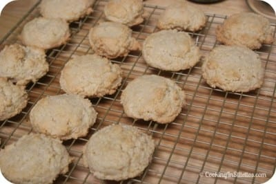 Homemade Amaretti Cookies - Time to Cool | Cooking In Stilettos