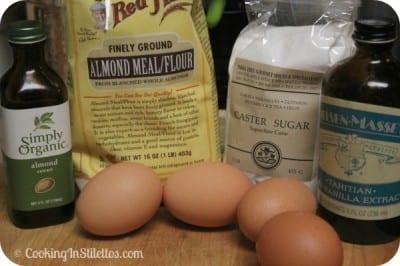 Homemade Amaretti Cookies - Ingredients | Cooking In Stilettos